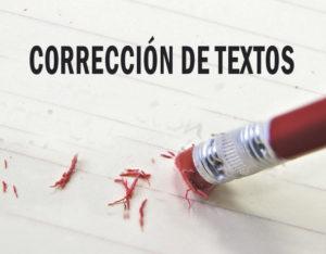 Lámina corrección de textos