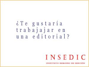 Trabajar en una editorial. INSEDIC